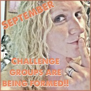 SEPTEMBER CHALLENGE GROUPS!!