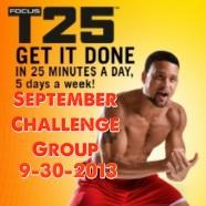 T25 September Challenge